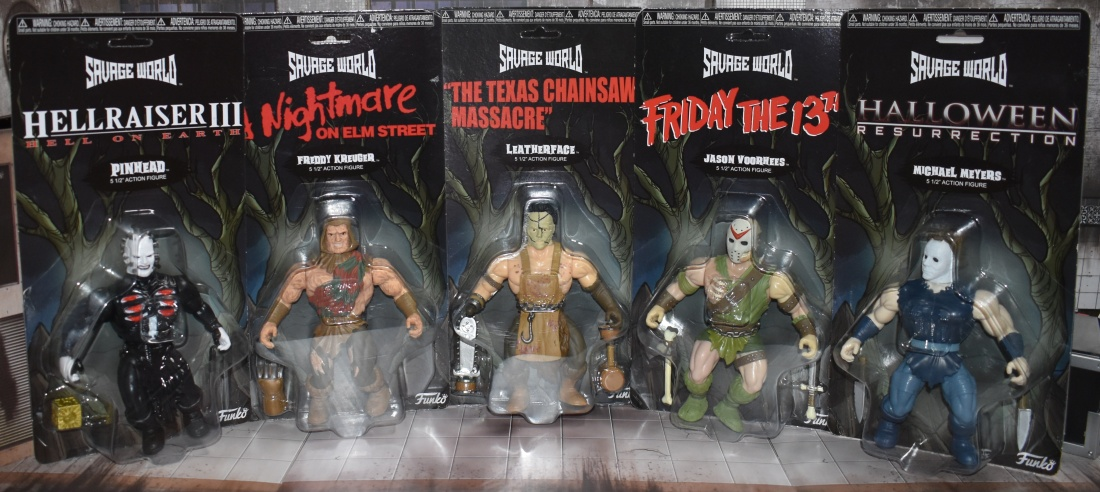 Halloween 2018 Toy Review – Savage World Horror from Funko