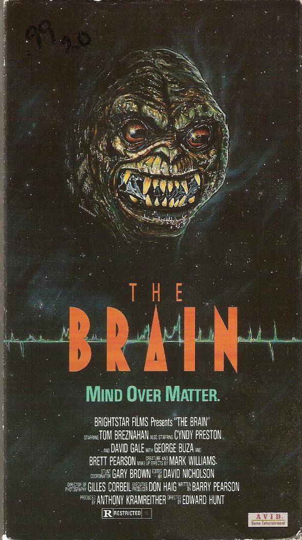 The Brain VHS
